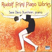 Chanson - Piano Works of Rudolf Friml / Sara Davis Buechner