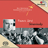 Stravinsky / Paavo J&auml;rvi, Deutsche Kammerphilharmonie Bremen