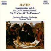 Haydn: Symphonies nos 26, 35 & 49 / Ward, Northern CO