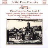 British Piano Concertos - Pitfield / Penny, Goldstone, et al