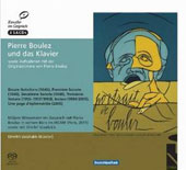 Pierre Boulez and the Piano - the complete works: Documentary & performance / Pierre Boulez, piano; Dimitri Vassilakis, piano. Narration in German with printed translation