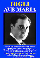 Ave Maria: The German Versio Gigli / Berger. [2 DVD]