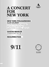 A Concert for New York: Mahler / Glibert, Roschmann, DeYoung [DVD]