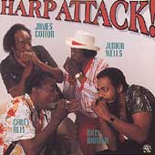 James Cotton (Harmonica)/Junior Wells/Carey Bell/Billy Branch: Harp Attack!