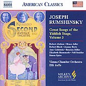 American Classics - Great Songs of the Yiddish Stage Vol 3