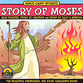 Bible Camp Stories: Bible Camp Stories: Story Of Moses/Story Of Creation/Story Of Isaac & Rebecca *