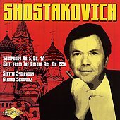 Shostakovich: Symphony no 5, The Golden Age Suite