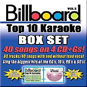 Sybersound: Billboard Top 10 Karaoke, Vol. 3 [Box]