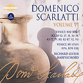 D. Scarlatti: Complete Sonatas Vol 6 / Richard Lester