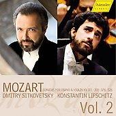 Mozart: Violin Sonatas Vol 2 / Sitkovetsky, Lifschitz