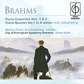 Brahms: Piano Concertos no 1 & 2, etc / Tirimo, Sanderling, Levi, Rattle, et al