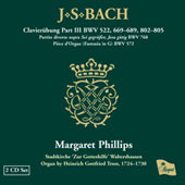 Bach: Organ Works Vol 3 / Margaret Phillips