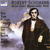 Schumann: Kerner Lieder, etc / Hunt, Ollman, Barret