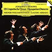 Brahms: 21 Hungarian Dances / Abbado, Vienna Philharmonic