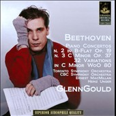 Beethoven: Piano Concertos No. 2 & No. 3; 32 Variations in C minor WoO 80
