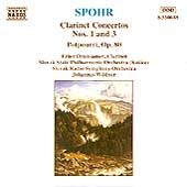 Spohr: Clarinet Concertos nos 1 & 3, etc / Ottensamer