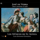 Jos&#233; de Nebra: Amor Aumenta el Valor