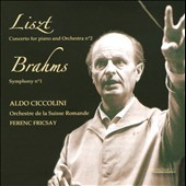 Liszt: Concerto for Piano and Orchestra No. 2; Brahms: Symphony No. 1