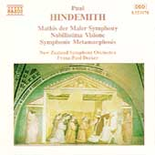Hindemith: Mathis der Maler, etc / Decker, New Zealand