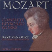 Mozart: Complete Keyboard Works / Bart von Oort, fortepiano