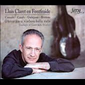 Works For Solo Cello / Lluis Claret, cello