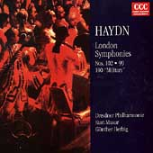 Haydn: London Symphonies 102, 99 & 100
