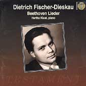 Beethoven: Lieder / Dietrich Fischer-Dieskau, Hertha Klust