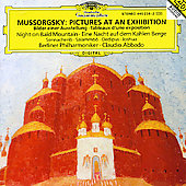 Mussorgsky: Pictures at an Exhibition, etc / Claudio Abbado