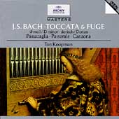 Bach: Toccata & Fuge, Passacaglia, etc / Ton Koopman