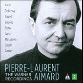 Pierre-Laurent Aimard: The Warner Recordings - works by Debussy, Ravel, Boulez, Berg, Ives, Ligeti et al.