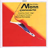 Monn: Concerti / Zipperling, Bauer, Utiger, Schneider