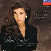 Rossini Recital / Cecilia Bartoli, Charles Spencer