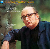 Beethoven: Diabelli Variations / Friedrich Gulda, piano