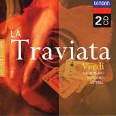 Verdi: La traviata / Pritchard, Sutherland, Bergonzi, et al