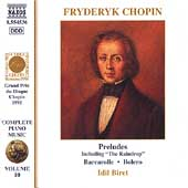 Chopin: Complete Piano Music Vol 10 / Idil Biret