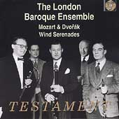 Mozart, Dvorak: Wind Serenades / London Baroque Ensemble
