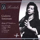 Recitals - Giulietta Simionato Vol 1