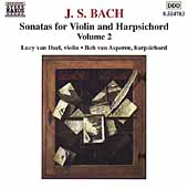 Bach: Sonatas for Violin & Harpsichord Vol 2 / Dael, Aspern