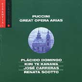 Puccini - Great Opera Arias / Domingo, Te Kanawa, et al