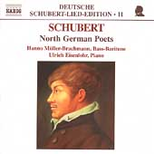 Deutsche Schubert-Lied-Edition 11 - North German Poets