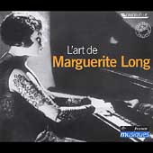 L'art de Marguerite Long