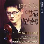 Dvorak: Works for Cello and Orchestra /Grzegorz Nowak, et al