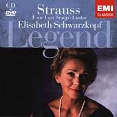 Legend - Strauss: Four Last Songs, etc / Schwarzkopf, et al