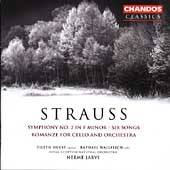 Strauss: Symphony no 2, Songs, Romanze / N. J&auml;rvi, et al