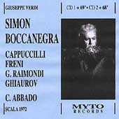 Verdi: Simon Boccanegra / Abbado, Cappuccilli, Freni