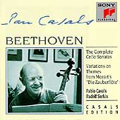 Casals Edition - Beethoven: Complete Cello Sonatas, etc