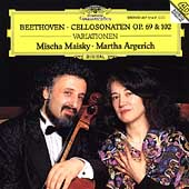Beethoven: Cellosonaten Opp 69 & 102, etc / Maisky, Argerich
