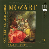 Mozart: Complete Clavier Works 2 / Rampe