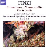 Finzi: Intimations of Immortality, etc / Hill, et al