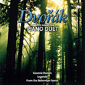 Dvor&aacute;k: Complete Works for Piano Duet / Thorson, Thurber